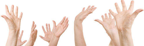 mains photographie stock libre de droits