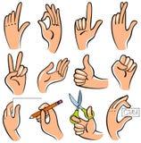 mains Illustration Libre de Droits