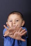 Mains croisées Photos libres de droits
