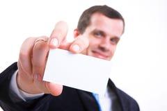 Mains d'affaires, homme dans le procès Photo stock