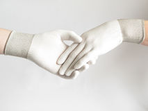 Mains d'homme et de femme Photo libre de droits