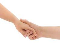 Mains d'homme et de femme Image libre de droits