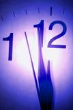 Mains d'horloge Images stock
