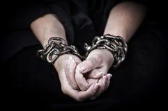Mains dans les réseaux images libres de droits