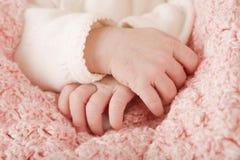 Mains de bébé photos libres de droits