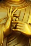 Mains de Bouddha. Image libre de droits