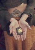 Mains de Bouddha photo libre de droits