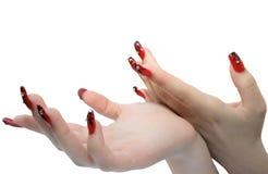 Mains de femme Photo libre de droits