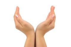 Mains de femme Photos libres de droits