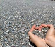 Mains de Heaft Image libre de droits