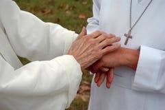Mains de la grace (6) Images stock