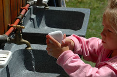 Mains de lavage ! image libre de droits