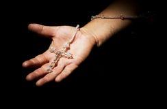 Mains de prière Photo libre de droits
