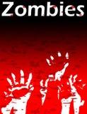 Mains de zombi Images libres de droits