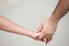 Mains des amoureux Photos libres de droits