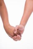 mains des hommes et des femmes Photos libres de droits