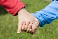 Mains des soeurs Photo libre de droits