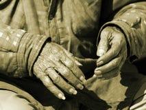 Mains du temps 2 Images libres de droits