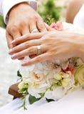 Mains et boucles Photographie stock libre de droits
