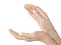 Mains et doigts Photo libre de droits