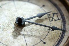 Mains et temps Images libres de droits