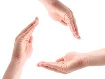 Mains femelles Image libre de droits