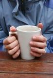 Mains froides Image libre de droits