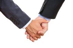 Mains homosexuelles de fixation de couples Image libre de droits