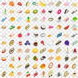 100 mains icons set, isometric 3d style. 100 mains icons set in isometric 3d style for any design vector illustration vector illustration