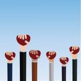 Mains retenant le coeur Image libre de droits