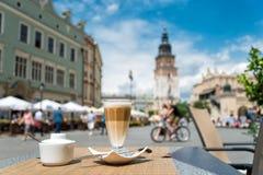 Mainsquare in Krakow Stock Image