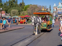 Mainstreet USA at Disneyland Park Stock Photos