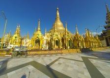 Mainstupa de Shwedagon Imagem de Stock Royalty Free