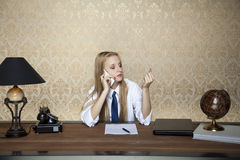 Maintain the stress of work Stock Photography