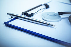 Maintaining medical records Stock Photography