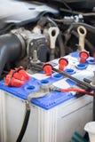 Maintenace de la batería de coche Imagen de archivo libre de regalías