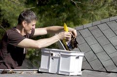 Maintenance à la maison - à l'extérieur Image stock