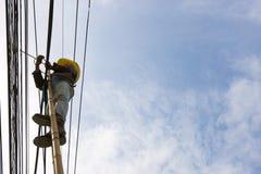 Maintenance électrique Image stock