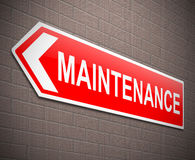 Maintenance concept. Royalty Free Stock Photography