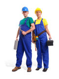 Maintenance couple Royalty Free Stock Photos