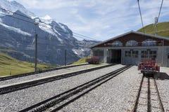 Maintenance facility - Kleine Scheidegg, Switzerland Royalty Free Stock Photos
