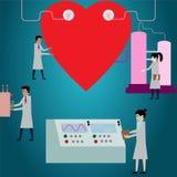 Maintenance hearth,Healthy Heart. Stock Photo