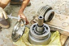 Maintenance mécanique Photographie stock