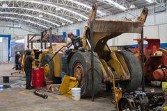 Maintenance machine Stock Photo