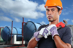 Maintenance Man Royalty Free Stock Photography