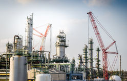 Maintenance petrochemical plant Royalty Free Stock Photo
