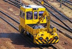 Maintenance railway carriage Stock Image