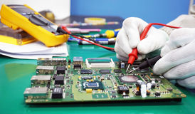 Maintenance support and repairing service concept Stock Photography