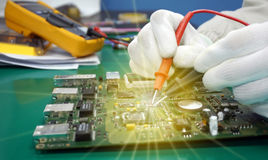 Maintenance support and repairing service concept Stock Image
