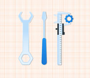 Maintenance tools Stock Image